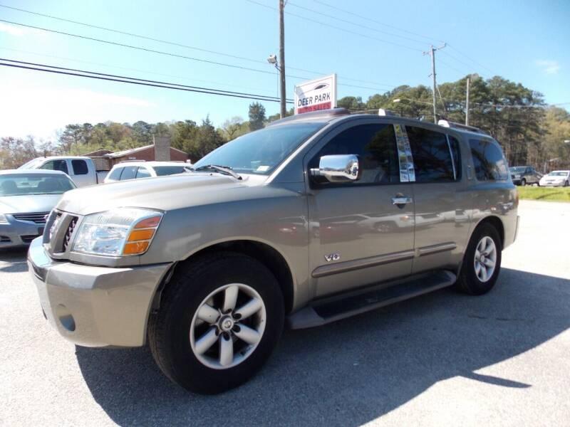 2007 Nissan Armada for sale at Deer Park Auto Sales Corp in Newport News VA