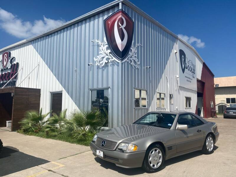 1992 Mercedes-Benz 500-Class for sale at Barrett Auto Gallery in San Juan TX