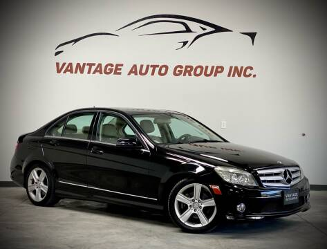 2010 Mercedes-Benz C-Class for sale at Vantage Auto Group Inc in Fresno CA