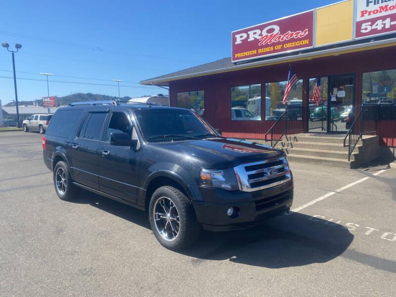 2012 Ford Expedition EL for sale at Pro Motors in Roseburg OR