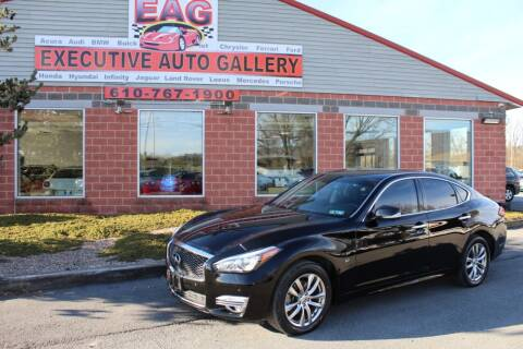 2019 Infiniti Q70 for sale at EXECUTIVE AUTO GALLERY INC in Walnutport PA