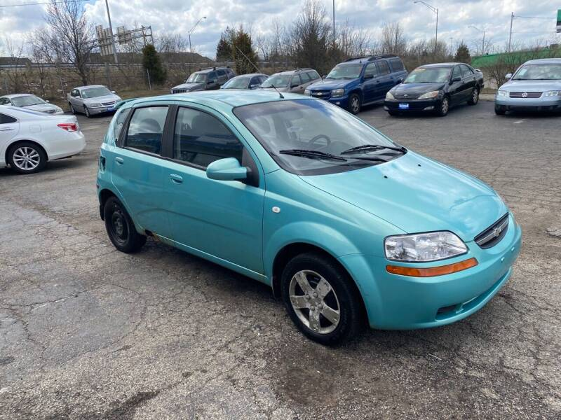 2006 Chevrolet Aveo for sale at Duke Automotive Group in Cincinnati OH