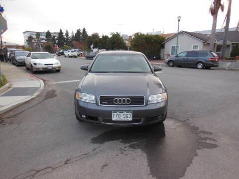 2004 Audi A4 for sale at Top Notch Auto Sales in San Jose CA