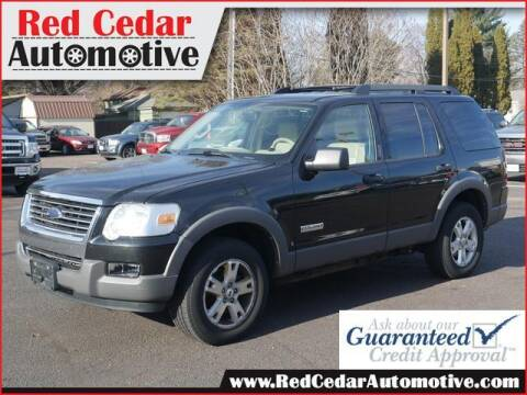 2006 Ford Explorer for sale at Red Cedar Automotive in Menomonie WI