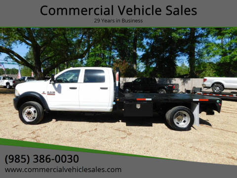 2017 RAM Ram Chassis 5500 for sale at Commercial Vehicle Sales in Ponchatoula LA