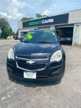 2012 Chevrolet Equinox for sale at Rocket Cars Auto Sales LLC in Des Moines IA