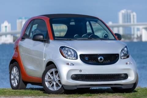 2018 Smart fortwo electric drive for sale at PAUL YODER AUTO SALES INC in Sarasota FL