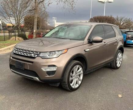 2016 Land Rover Discovery Sport for sale at AutoMax of Memphis - Nate Palmer in Memphis TN