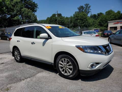 2016 Nissan Pathfinder for sale at Import Plus Auto Sales in Norcross GA