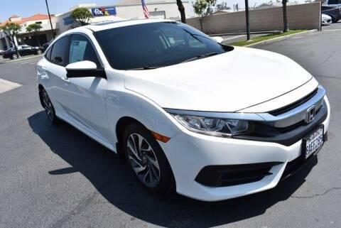 2017 Honda Civic for sale at DIAMOND VALLEY HONDA in Hemet CA