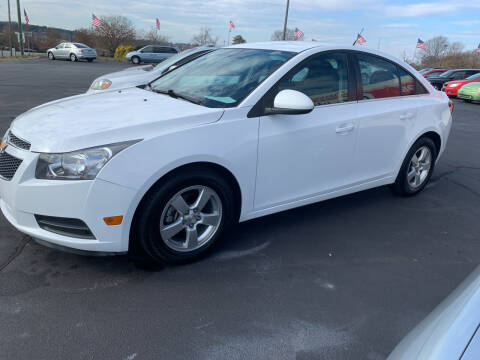 2014 Chevrolet Cruze for sale at Doug White's Auto Wholesale Mart in Newton NC