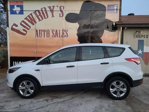 2014 Ford Escape for sale at Cowboy's Auto Sales in San Antonio TX