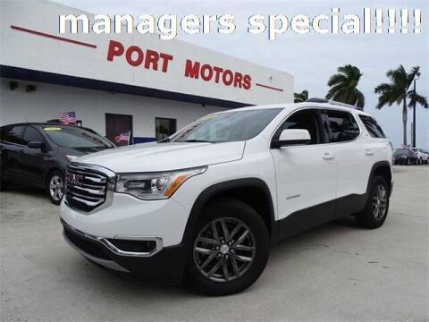 2019 GMC Acadia for sale at Automotive Credit Union Services in West Palm Beach FL