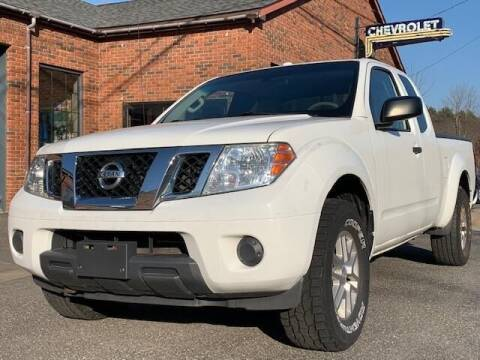 2014 Nissan Frontier for sale at Worthington Air Automotive Inc in Williamsburg MA