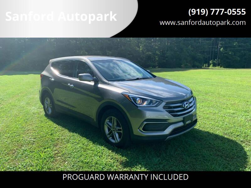 2018 Hyundai Santa Fe Sport for sale at Sanford Autopark in Sanford NC