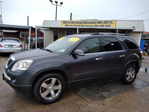 2012 GMC Acadia for sale at Taylor Trading Co in Beaumont TX