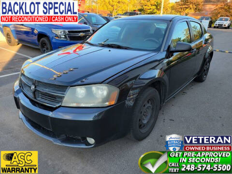 2008 Dodge Avenger for sale at North Oakland Motors in Waterford MI