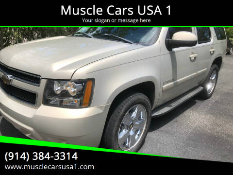 2007 Chevrolet Tahoe for sale at Muscle Cars USA 1 in Murrells Inlet SC
