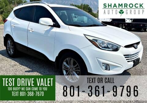2014 Hyundai Tucson for sale at Shamrock Group LLC #1 in Pleasant Grove UT