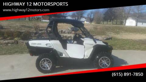 2013 Can-Am Commander for sale at HIGHWAY 12 MOTORSPORTS in Nashville TN