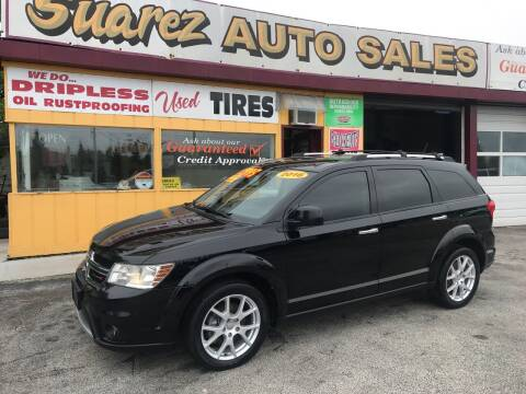 2016 Dodge Journey for sale at Suarez Auto Sales in Port Huron MI