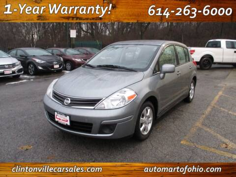 2012 Nissan Versa for sale at Clintonville Car Sales - AutoMart of Ohio in Columbus OH