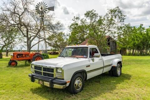 1991 Dodge RAM 350 for sale at STREET DREAMS TEXAS in Fredericksburg TX