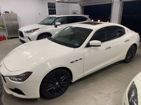 2015 Maserati Ghibli for sale at Trocci's Auto Sales in West Pittsburg PA
