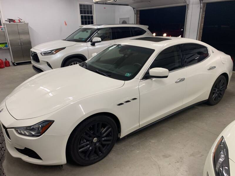 2015 Maserati Ghibli for sale at Trocci's Auto Sales in West Pittsburg PA