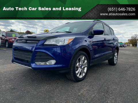 2013 Ford Escape for sale at Auto Tech Car Sales in Saint Paul MN