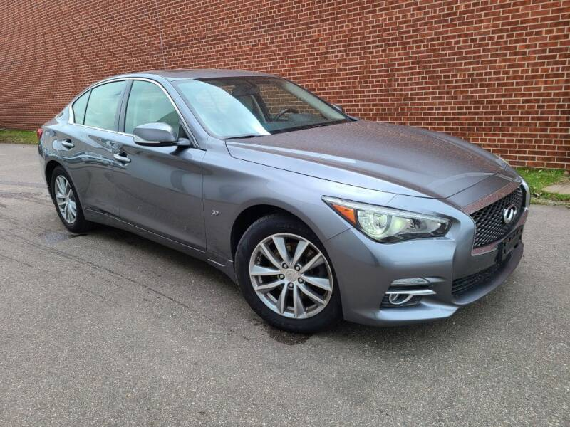 2015 Infiniti Q50 for sale at Minnesota Auto Sales in Golden Valley MN