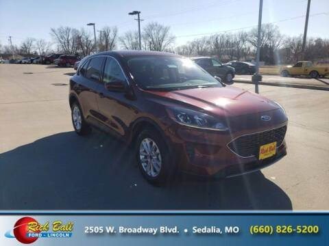 2021 Ford Escape for sale at RICK BALL FORD in Sedalia MO