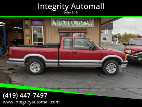 1997 Chevrolet S-10 for sale at Integrity Automall in Tiffin OH