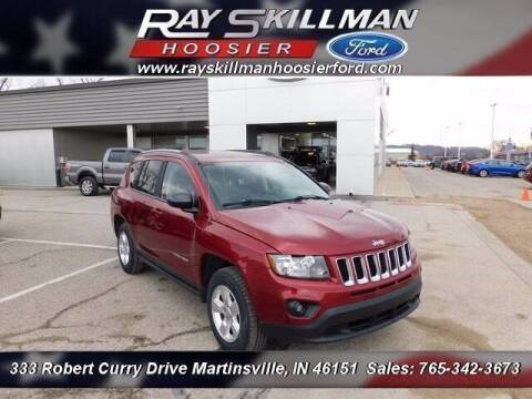 2015 Jeep Compass for sale at Ray Skillman Hoosier Ford in Martinsville IN