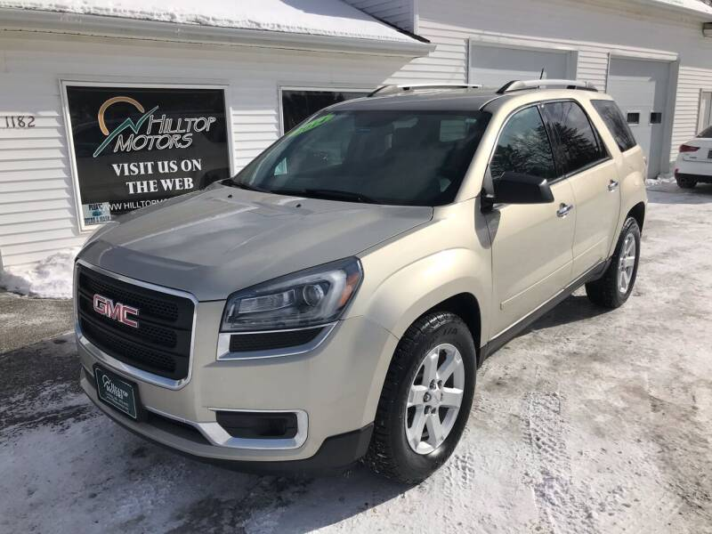2014 GMC Acadia for sale at HILLTOP MOTORS INC in Caribou ME