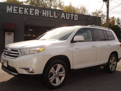 2011 Toyota Highlander for sale at Meeker Hill Auto Sales in Germantown WI