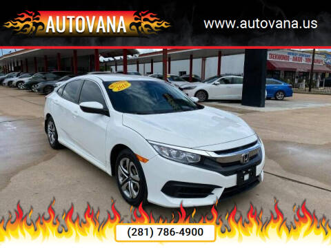 2018 Honda Civic for sale at AutoVana in Humble TX