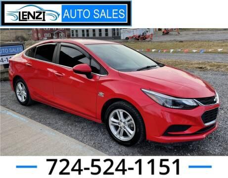 2017 Chevrolet Cruze for sale at LENZI AUTO SALES in Sarver PA