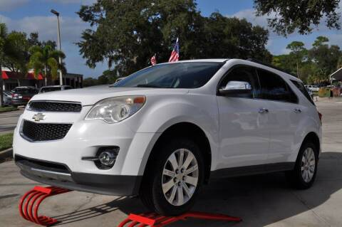 2010 Chevrolet Equinox for sale at STEPANEK'S AUTO SALES & SERVICE INC. in Vero Beach FL