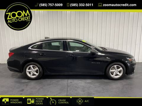2018 Chevrolet Malibu for sale at ZoomAutoCredit.com in Elba NY