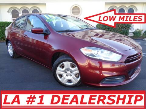 2015 Dodge Dart for sale at ALL STAR TRUCKS INC in Los Angeles CA
