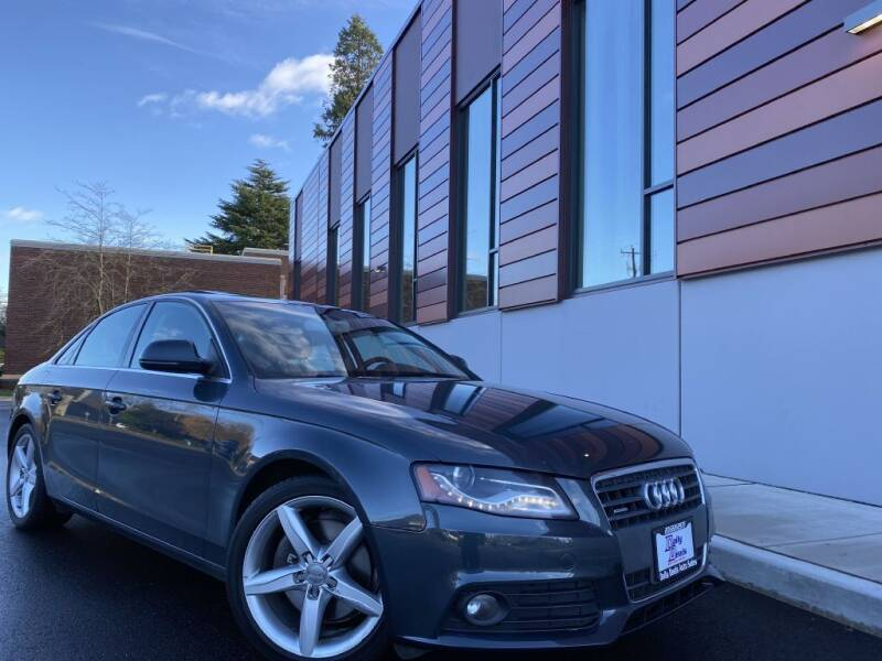 2009 Audi A4 for sale at DAILY DEALS AUTO SALES in Seattle WA