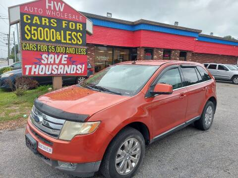 2008 Ford Edge for sale at HW Auto Wholesale in Norfolk VA