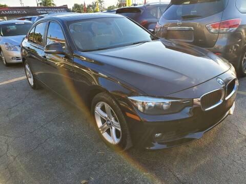 2012 BMW 3 Series for sale at America Auto Wholesale Inc in Miami FL