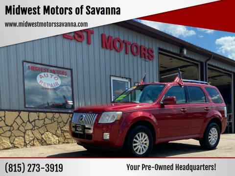 2010 Mercury Mariner for sale at Midwest Motors of Savanna in Savanna IL