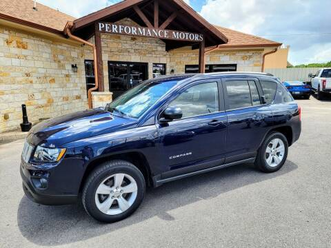 2015 Jeep Compass for sale at Performance Motors Killeen Second Chance in Killeen TX