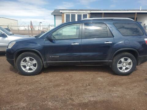 2008 GMC Acadia for sale at PYRAMID MOTORS - Fountain Lot in Fountain CO