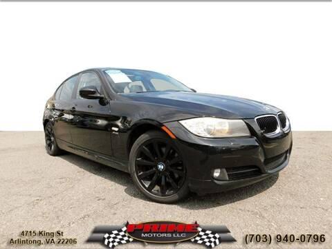 2011 BMW 3 Series for sale at PRIME MOTORS LLC in Arlington VA