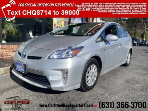 2013 Toyota Prius Plug-in Hybrid for sale at CERTIFIED HEADQUARTERS in St James NY