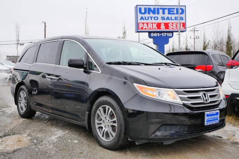 2013 Honda Odyssey for sale at United Auto Sales in Anchorage AK